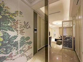 奢华现代欧式 打造128平文艺三居室