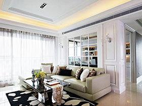 奢华优雅欧式 大家都喜欢这样的三居室