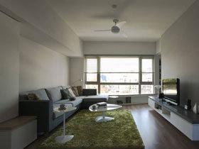 清新简洁北欧风公寓 整体花费不足10万