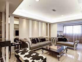 奢华法式新古典 很有尊贵气质的三居室装修