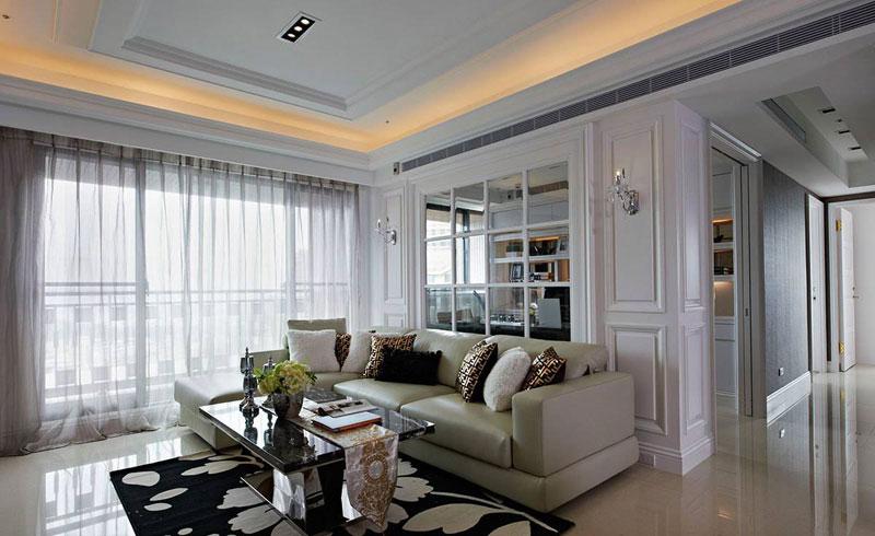 复古美式混搭三居 多彩暖宅年轻人最爱的空间