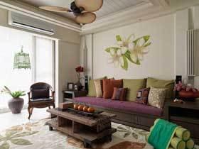 现代东南亚风情公寓 有爱的浪漫空间
