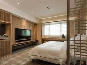 自然森系日式家居 咖啡色品质公寓
