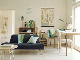 轻日式客厅设计 打造舒适休闲装修