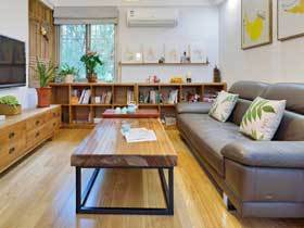 简洁日式三居设计美女护士精心装扮的家