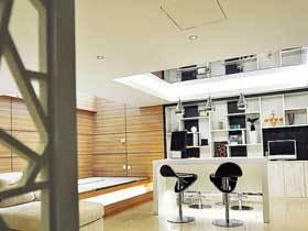 时尚现代简日式二居 很容易让人静心的空间