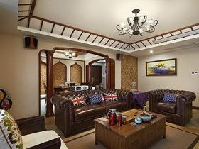 高端休闲东南亚风情 140平公寓美的与众不同