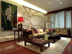 东南亚风情三居案例 创意设计太亮眼