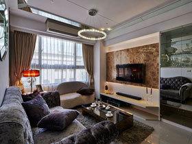 摩登奢华欧式新古典三居室 这样的家好大气