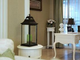 浪漫英式田园三居室 让你一看就爱上的设计