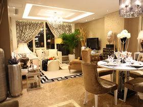 128平奢华典雅欧式公寓 很像明星的家