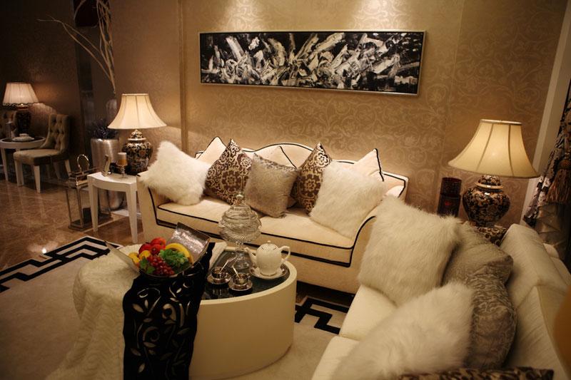 98平地中海田园三居室 艺术家精心打造的空间