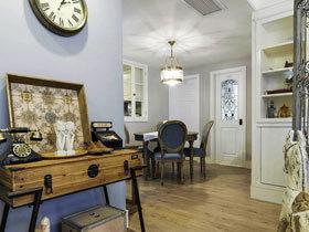 优雅复古美式复式家居 历久弥新的空间