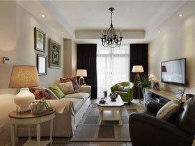 118平品质美式三居室 面积不大但足够温馨