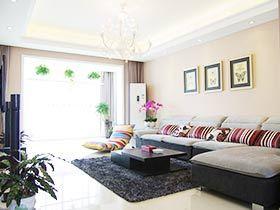休闲现代美式三居室 很接地气的家