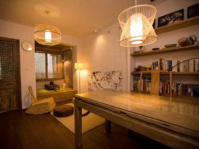日式混搭风一居公寓 单身狗的静谧空间