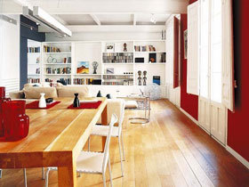 时尚宜家现代两居室 清新舒适的家