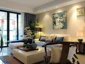 120平唯美新中式三居 大家说我的家装修的最美