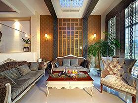 300㎡新中式风格别墅装修 底蕴流淌