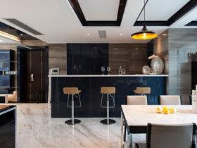 港式现代简约三居室 追求精致生活