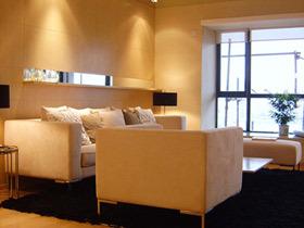港式宜家风公寓设计 我最喜欢暖色调的家