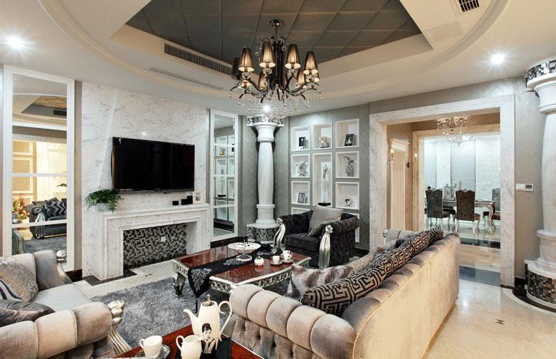 68平温馨简欧两居室 好的设计简洁舒服