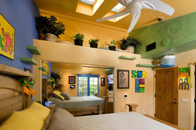 乡村美式混搭风别墅装修 富有自然气息的空间