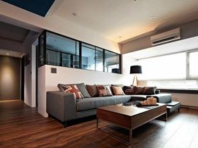 港式新中式混搭两居室 生活可以更舒适