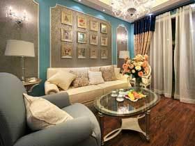 精美法式新古典三居装修 每一寸空间都精心打磨