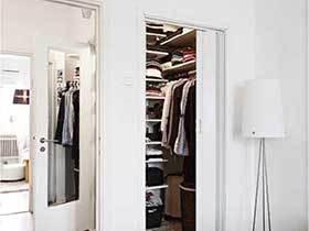 3平方挤出靓丽空间  10款小户型衣帽间实景图
