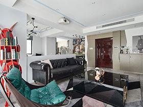 120平方创意混搭房子效果图 新颖大胆的设计
