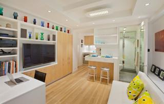 小清新原木日式 三口之家的幸福空间