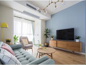 90平毛坯房简单装修  这样的家太完美