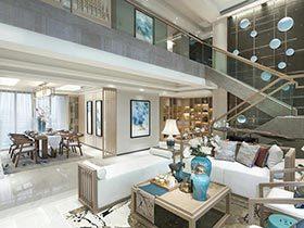 40万打造新中式装修效果图 品质铸就家居