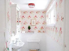 房以小为美  10个迷你卫生间装修效果图