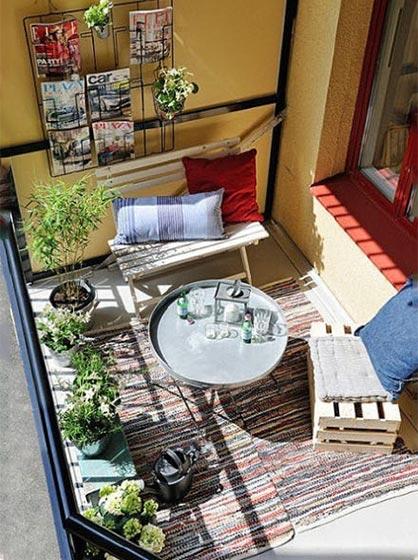 我的鲜美生活  10款休闲阳台装修图片