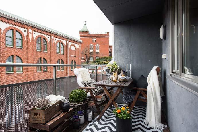 尽享舒适空间  10款休闲阳台装修图片
