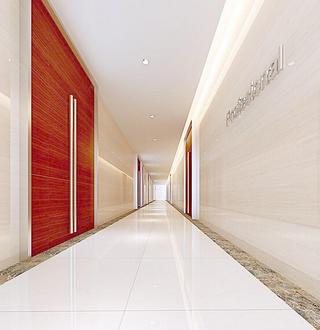 写字楼走廊装修图片