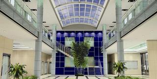 写字楼大厅设计效果图