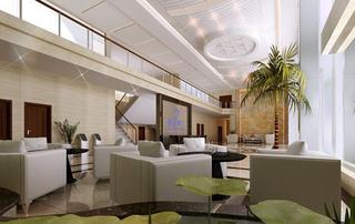 写字楼大厅休闲区效果图