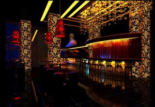 酒吧大厅设计效果图