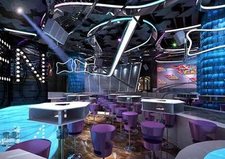 酒吧吊顶设计效果图