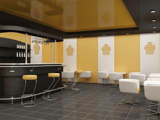 简约咖啡厅室内装潢设计效果图片