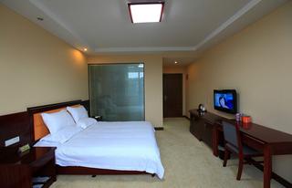 宾馆单人间装饰室内效果图片