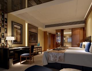 宾馆卧室设计室内效果图片