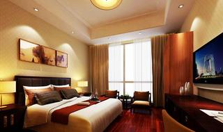 宾馆房间设计装饰效果图片