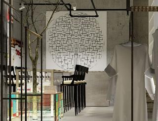 连锁服装店设计装饰效果图片