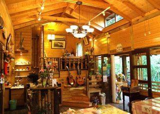 咖啡厅木屋图片欣赏