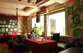 咖啡厅沙发装饰效果图片案例