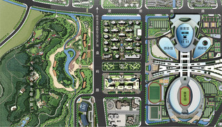 公园规划图片